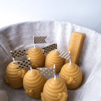 Beehive – 100% Natural Beeswax Candle
