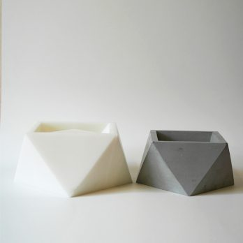 Geometric Silicone Concrete Planter Mould- M1