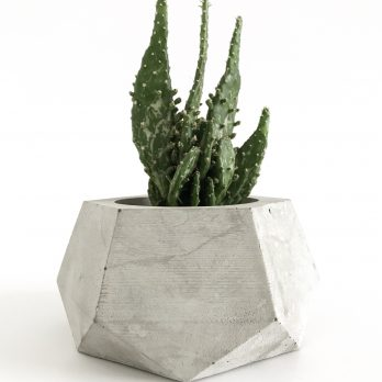 Geometric Concrete Planter – Liverpool