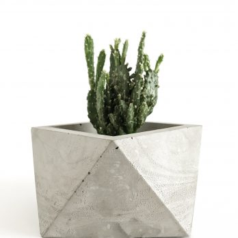 Geometric Concrete Planter – York