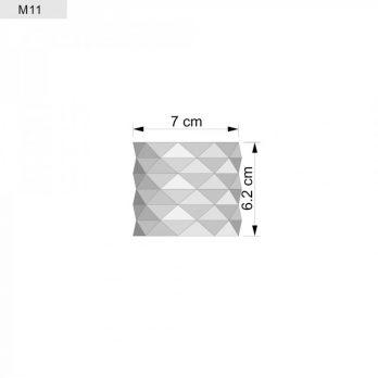 Silicone Mould – Concrete Planter Mould – Platin Silicone – Pot Mould – Bristol Model
